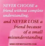 Never choose a friend quotes - Inspirational Quotes about Life, Love ...