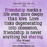 The Day on Friendship and Love - Inspirational Quotes about Life, Love ...