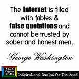 Quotes for Teachers: False Quotations   A to Z Teacher Stuff Tips for ...