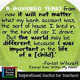 Quotes for Teachers: Important in the Life of a Child | A to Z Teacher ...