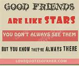 Good friends Quotes (Cute Friend Status, Sayings) – Love Quotes for ...