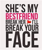 Amazing Best Friend Quotes and Sayings Wall Murals Stickers for Kids ...