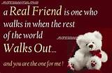 Cute Images For Friendship With Quotes - Friendship Quotes