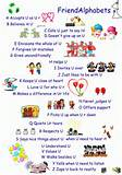 Colorful Cute Friendship Quotes and Sayings for Nursery Kids Bedroom ...