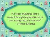 Broken friendship | Quotes