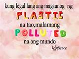 Plastic Friends Quotes Tagalog