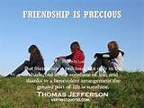 Friendship Quotes - But friendship is precious, not only in the shade ...