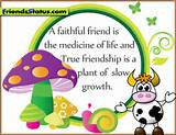 True friendship quotes with images - A faithful friend