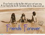 true friends forever - true friend is like a air sometimes silent but ...