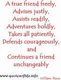 Quotes Of Life A true friend freely, advises justly, assists readily ...