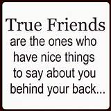 True friends | QUOTES & THINGS!