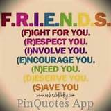 True friends | Sayings and such