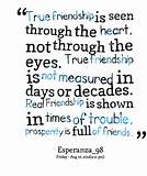 Quotes from Nor Amanina Zamri: True friendship is seen through the ...