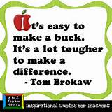 Quotes for Teachers: It's easy to make a buck… | A to Z Teacher ...