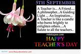 cute teacher day inspirational quotes - a salute to all the teachers ...