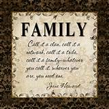 Inspirational Family Quote Small