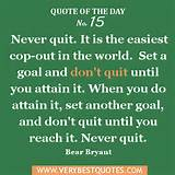 Motivational Quote Of The Day 1/4/2013: Never Quit - Inspirational ...