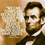 motivational quotes for students abraham lincoln rose bushes thorns ...