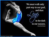 Motivational Sports Quotes Gymnastics | 2- Progress = Quality of Life