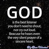 Cute Life Quotes God The Best Listener - quotes tumblr funny pictures ...