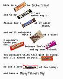 Quotes Sayings Using Candy Bars For Parents - cute quotes about life ...