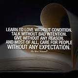cute-life-quotes-learn-to-love-without-condition