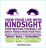 Positive Life Thoughts: Life Quote: Kindsight
