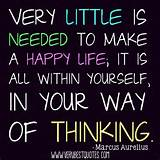 about a happy life – Very little is needed.. - Inspirational Quotes ...