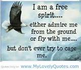 am free spirit Happy life quotes - My Lovely Quotes