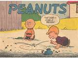 The Peanuts gang debuted in 1950 on a Monday.