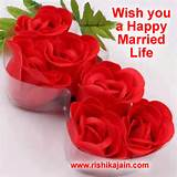 Heart filled wishes on your wedding; hoping the best for you two today ...