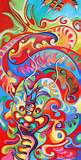 Happy Dragon – Artwork by Sofan Chan | The Art of Happiness Blog