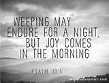 Daily Inspirational Quote // Joy Comes (Happy Easter!)