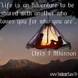 Share Adventure With Another Inspirational Motivational Daily Quote