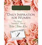 Daily Inspiration for Women ( 365-Day Devotional Journals ) (Hardback ...