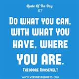 Daily Inspirational Quote: Do what you can - Inspirational Quotes ...