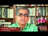 Deepak Chopra, author and M.D., takes a moment to describe his ...