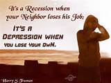 Quotes On Images » All Quotes On Images » It's A Recession When ...