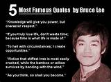 Famous Inspirational Quotes of Bruce Lee | Ajith Kumar. CC