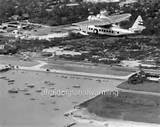 photo pre 1940 us airmail plane over honolulu hawaii