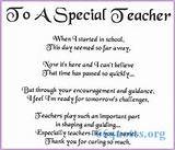 To A Special Teacher - Poem |