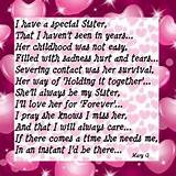 Sister   Inspirational Poems and Quotes