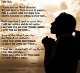 Prayer   Inspirational Poems and Quotes