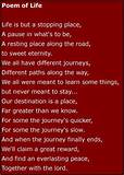 poem_of_life. | Inspirational Words & Quotes