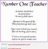 Search Engine - Image - inspirational teacher poems and quotes - Seivo ...