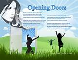 Opening Doors Inspirational Poem for Women