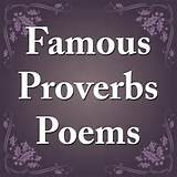 Famous Proverbs Poems by Feel Social - iAppFind