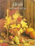 THANKSGIVING IDEALS vintage inspirational Magazine Holiday Stories ...