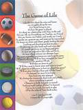... Original Inspirational Christian Poetry - Poems - The Game Of Life