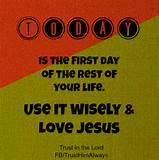 Thankfully Use Each Day Wisely | Inspirational Christian Blogs